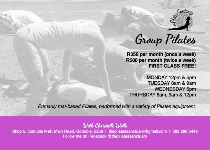 20190909 The Pilates Sanctuary - Flyer A