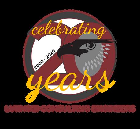 Special 20 Year Celebration Logo Design