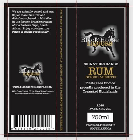 Black Horse Liquors | Tarryn Jordaan Web Design & Marketing
