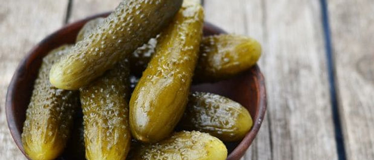 Whole Sweet & Sour Gherkins (670g)