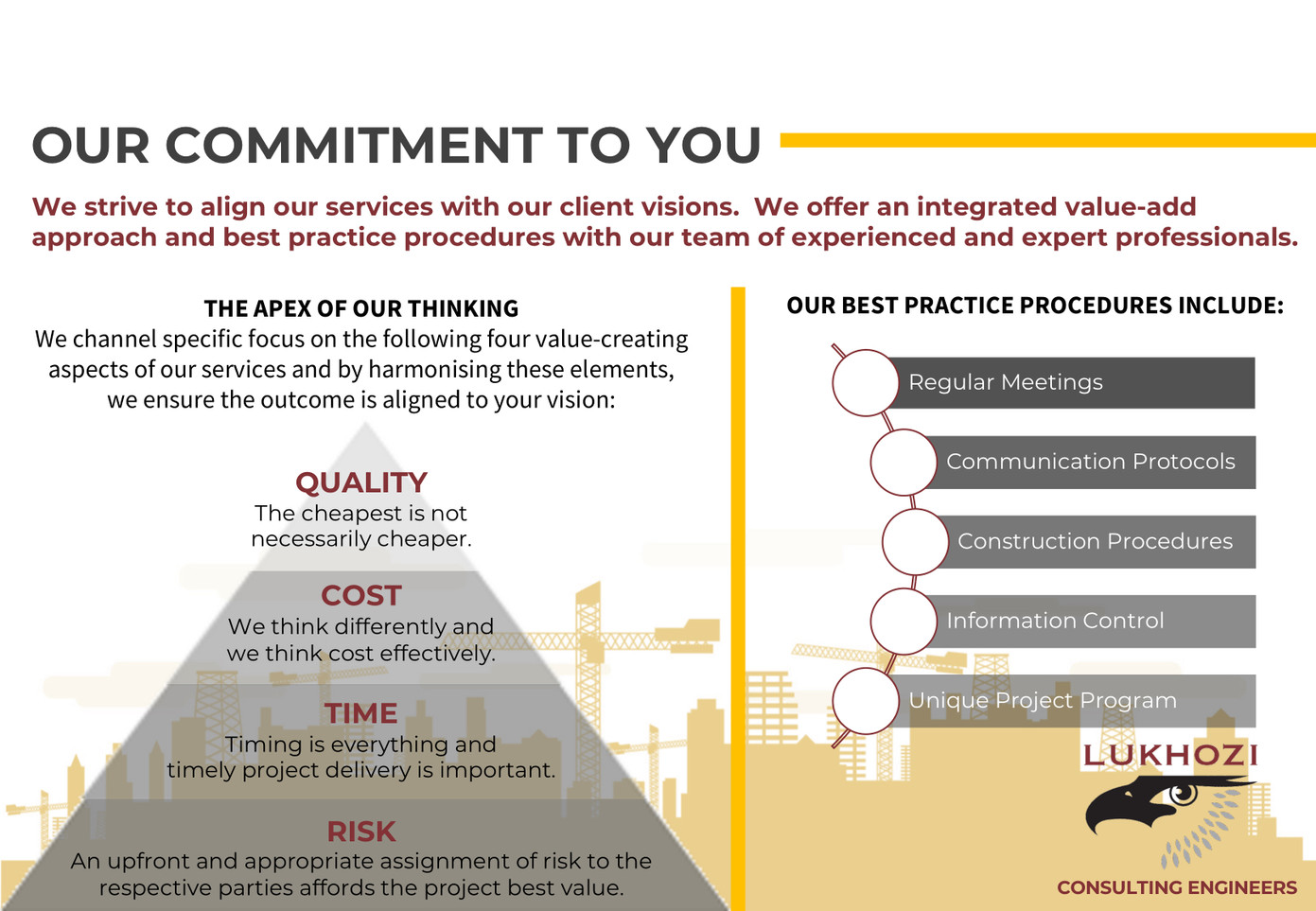 Capability Statement - Our Commitment To You