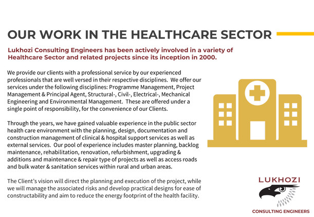 Capability Statement - Sector Specific Work History 1