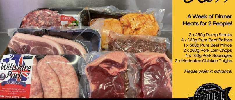 Weekly Meat Pack for Two