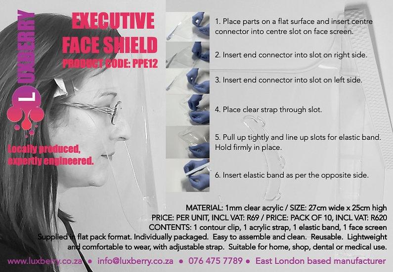 Executive Face Shield