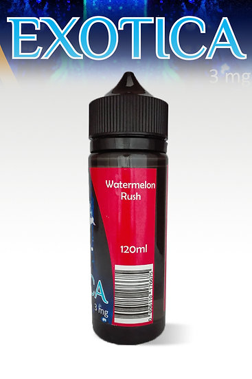 EXOTICA - 120ml Watermelon Rush 0mg/ml [25PG/75VG]