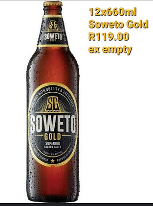 Soweto Gold (12x660ml excl empty)