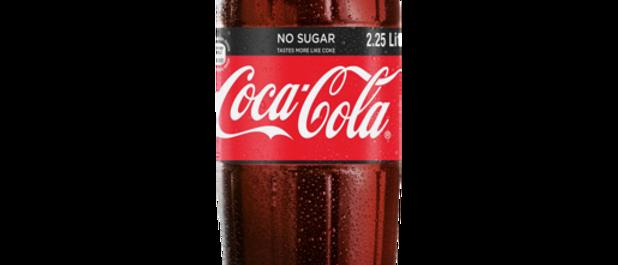2.25L Coke Zero