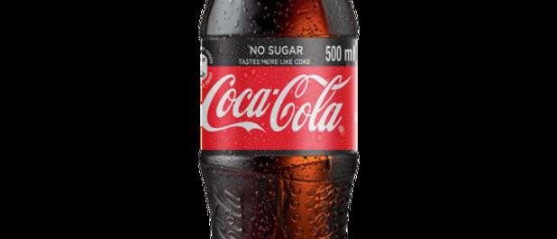 500ml Coke Zero