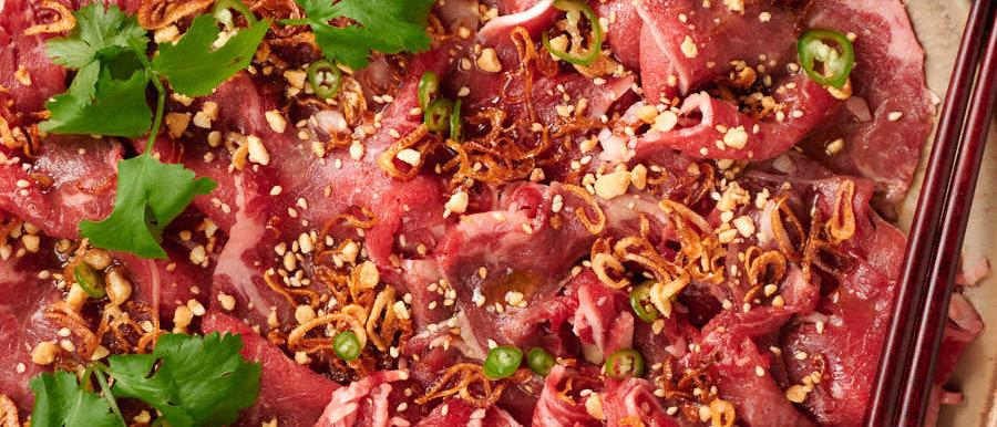 Beef Carpaccio (100g)
