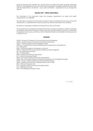 BioNaturals - ViroGold HOCL - Safety Data 6