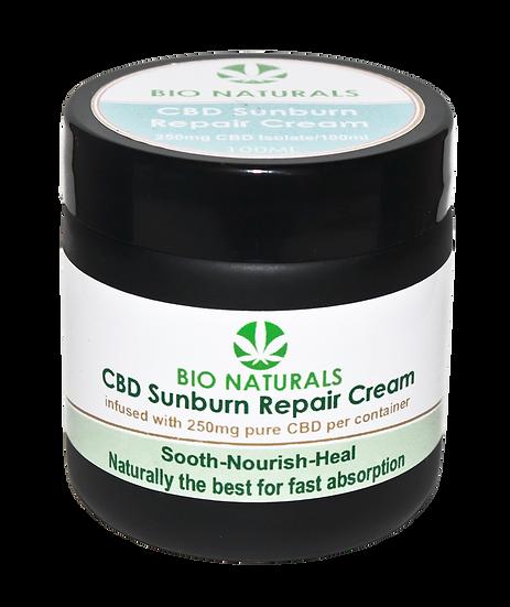 CBD Sunburn Repair Cream - 250mg/100ml