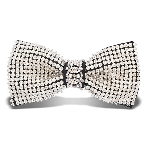 HOLLYWOOD BOW TIE - SILVER
