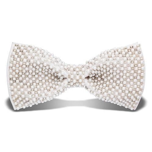 HOLLYWOOD BOW TIE - PEARL