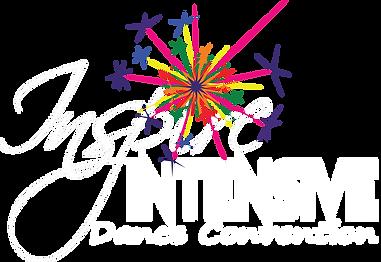 Inspire Intensive Logo White font transp