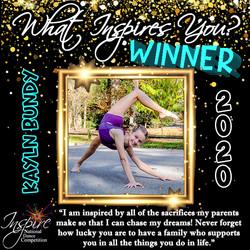 5th Winner: Kayln Bundy