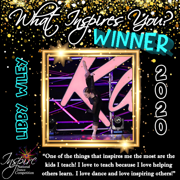3rd Winner: Libby Wiley
