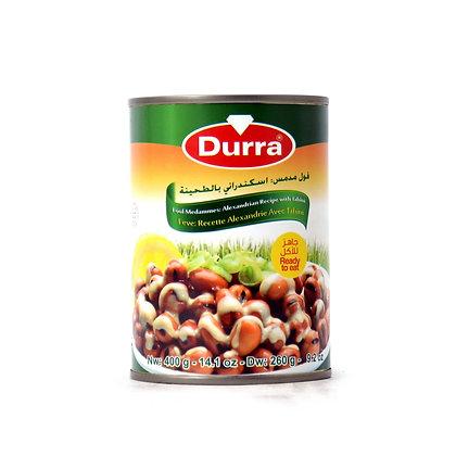 Durra- Foul Medammes: Alexand Recept (fava fazuľa)