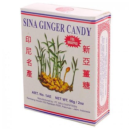 Sina - Zázvorový Cukrík krabička