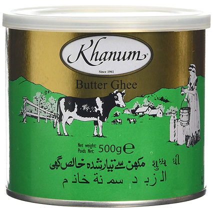 Khanum- Maslove Ghí (Butter Ghee) 500g