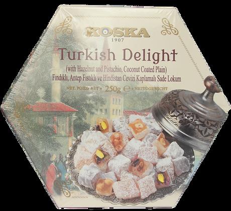 Koska - Turkish delight Pistácie, Orechy, Kokos