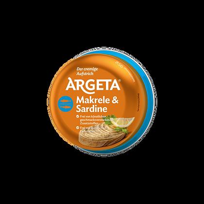 Argeta - Makrelaová a Sardínková  Paštika