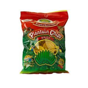Tropical Gourmet - Bánánové Chipsy (štiplavé)