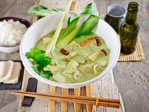 Thajské Zelené Kari (aj pre vegánov)