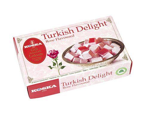 Koska - Turkish delight príchuť Ruže