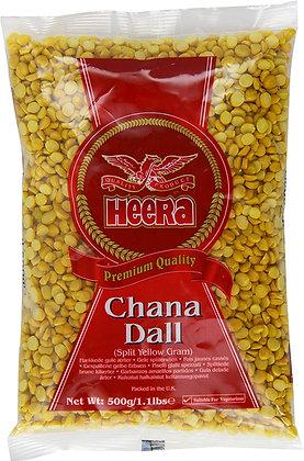 Heera - Žltý rozpoltený Hrach (Chana Dall, žltý Gram)