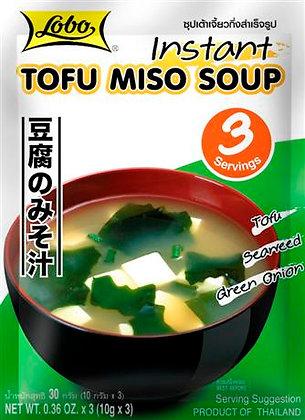 Lobo - Instantná Tofu Miso Polievka