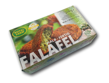 Royal Farm - Falafel Polohotový 370g
