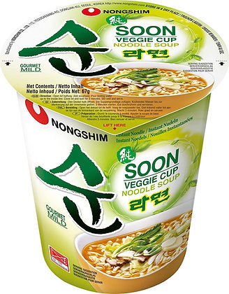 Nongshim - Instantná Polievka- Zeleninová Ramyun pohár