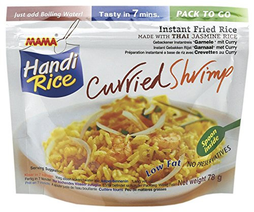 Mama - Thai ryža s Krevetami