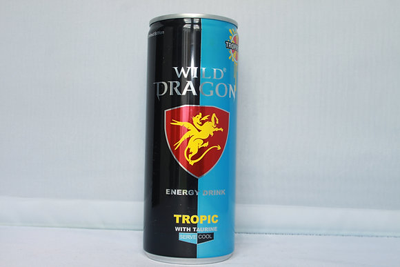Wild Dragon - Energetický Nápoj Tropic