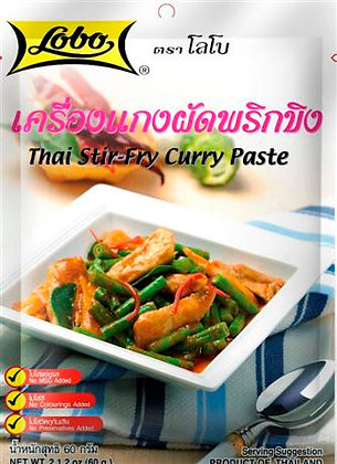 Lobo- Thajská stir-fry kari pasta