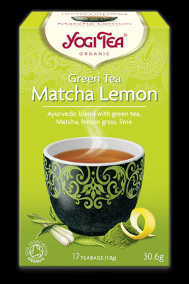 Yogi Tea - Zelený čaj Matcha, Citrón