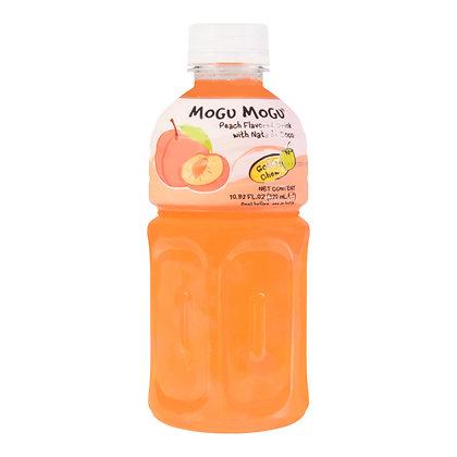 Mogu Mogu - Broskyňový Nápoj s Nata de Coco