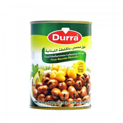 Durra- Foul Medammes: Lebanes Recept (fava fazuľa)