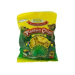 Tropical Gourmet - Bánánové Chipsy (solené)