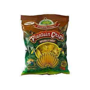 Tropical Gourmet - Bánánové Chipsy (sladké)