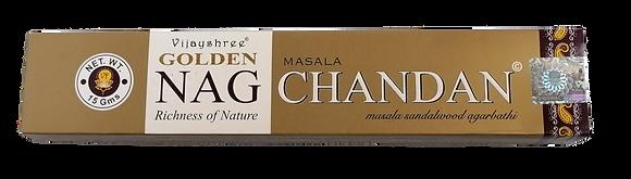 Golden Nag - Vonná Tyčinka Masala Chandan vôňa