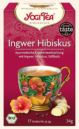 Yogi Tea - Zázvor a Ibištek
