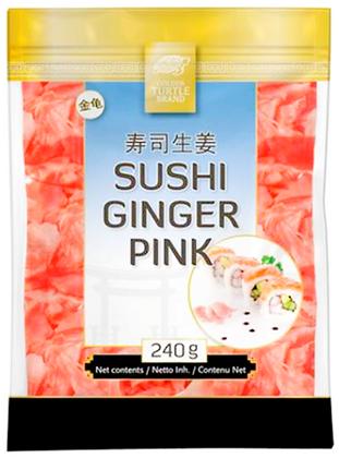 Golden Turtle - Ružový zázvor na Sushi