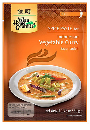 Asian Home Gourmet-  Indonézske Kari na zeleninu