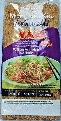 Mama - Celozrnné ryžové Vermiceli