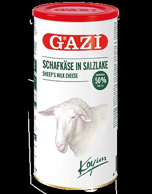Gazi - Syr z Ovčieho Mlieka v Slanom Náleve 1,5kg