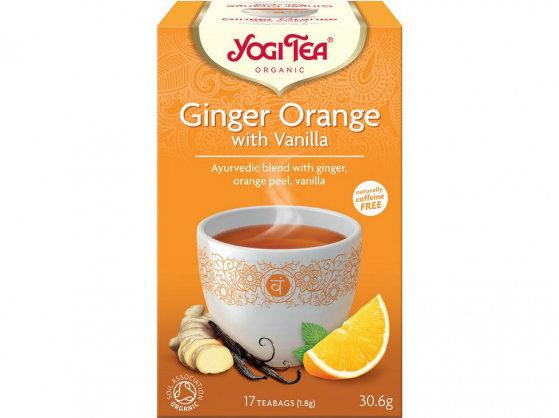 Yogi Tea - Zázvor Pomaranč s Vanilkou
