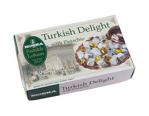Koska - Turkish delight s Pistáciami, Kokosom