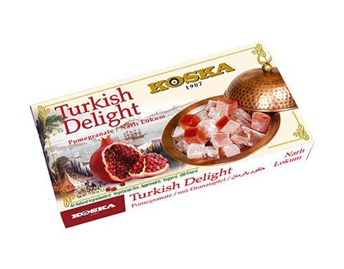Koska - Turkish delight Granátové jablko