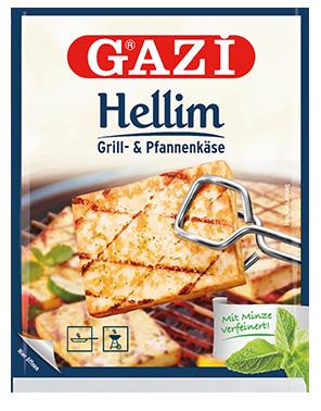 Gazi - Hellim - Syr s mätou na Vyprážanie a Grilovanie